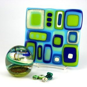 glass art sampler