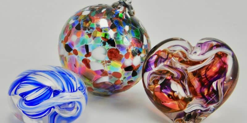 paperweight, heart, ornament